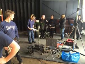 Eris on set VFX Supervision